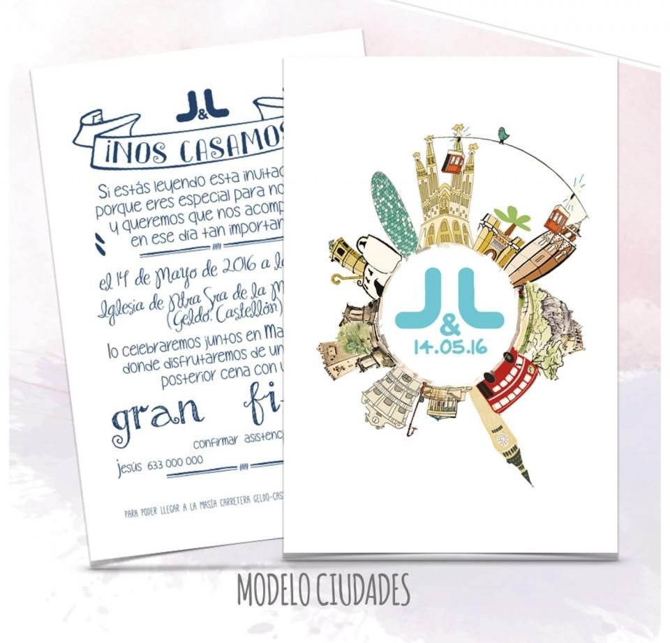 Invitaciones De Boda Barcelona