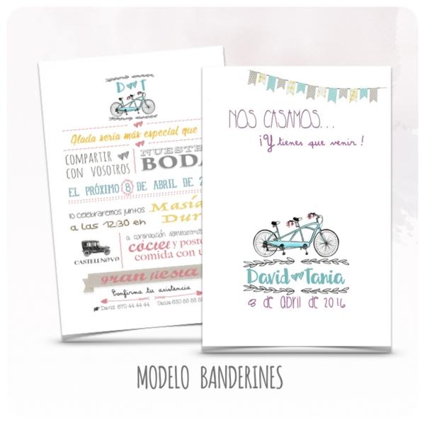 invitacion-boda-bicicleta-modelo-01-banderines-latiendadeolivia-com