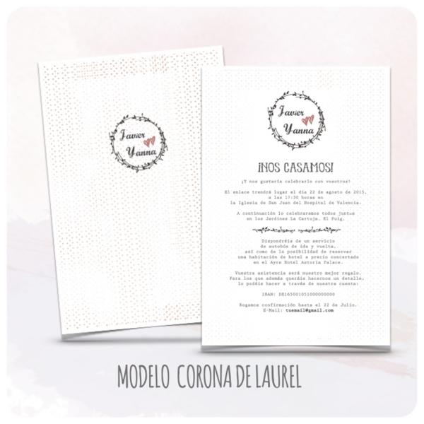 invitacion-boda-originales-modelo-07-corona-de-laurel-latiendadeolivia-com