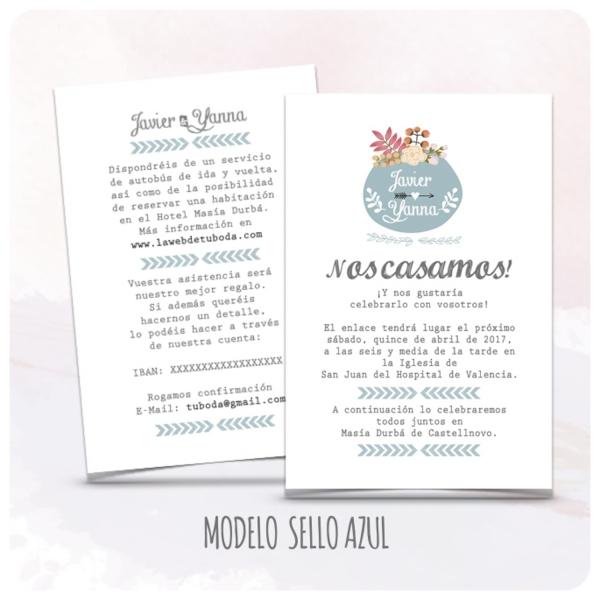 invitacion-boda-sencillas-modelo-06-sello-azul-latiendadeolivia-com