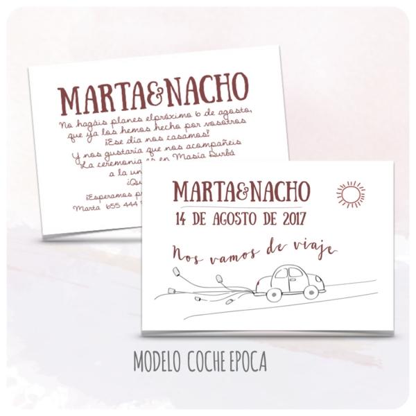 invitacion-boda-sencillas-modelo-30-coche-epoca-latiendadeolivia-com