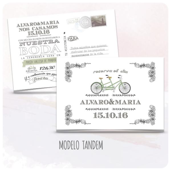 invitacion-boda-vintage-postal-creativas-bicicleta-modelo-12-tandem-latiendadeolivia-com
