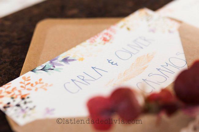 Invitaciones de boda en Las Palmas de Gran Canaria