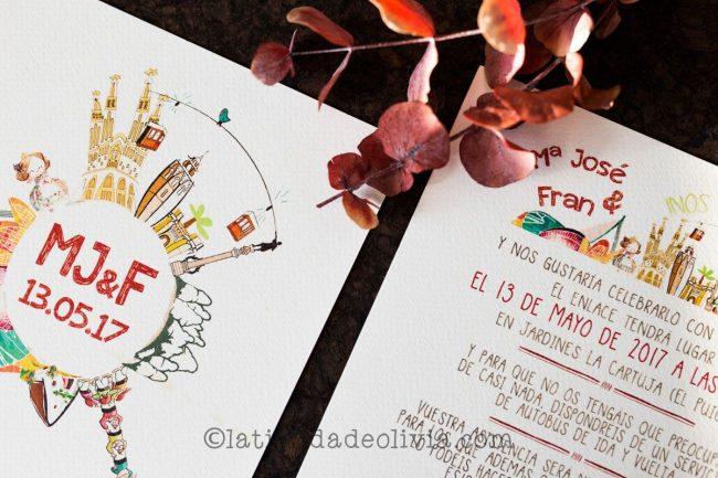 Invitaciones de boda en A Coruña
