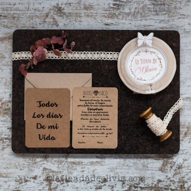 Invitaciones de boda en Albacete