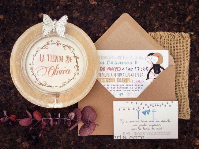 Invitaciones de boda en Ávila