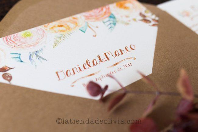 Invitaciones de boda en Bilbo - Bilbao