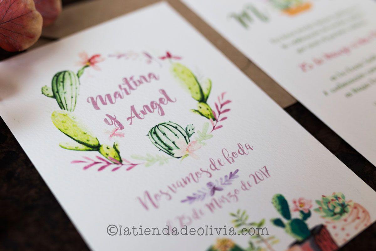 Invitaciones De Boda En Caceres La Tienda De Olivia - Ver-invitaciones-de-boda