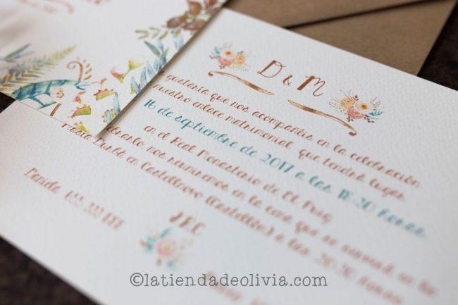 Invitaciones de boda en Cantabria