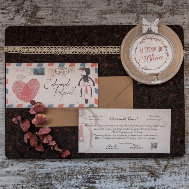 Invitaciones de boda en Castellón
