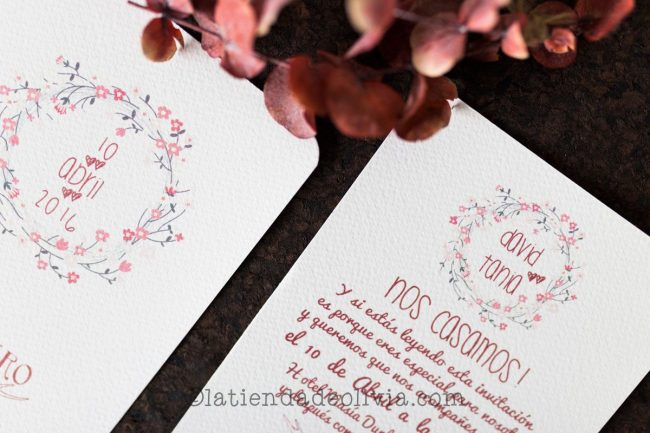 Invitaciones de boda en Cuenca