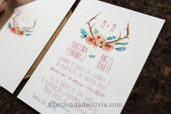 Invitaciones de boda en Gipuzkoa - Guipúzcoa