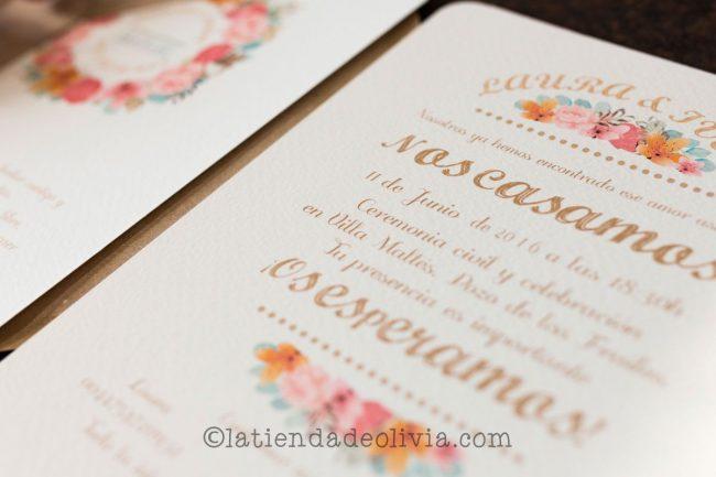 Invitaciones de boda en Móstoles