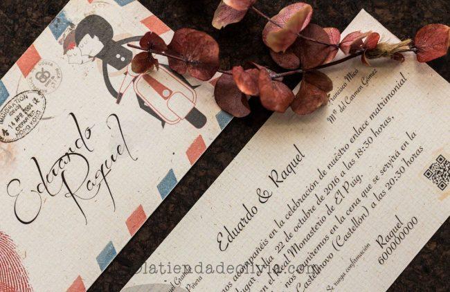 Invitaciones de boda en Ousense