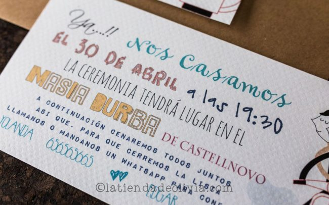 Invitaciones de boda en Palencia