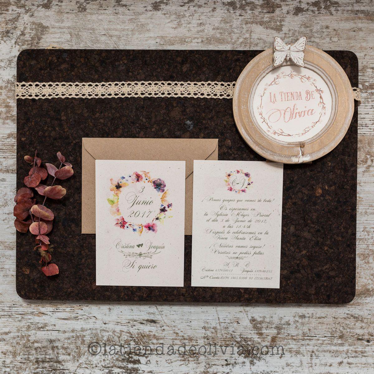 Invitaciones de boda en Pamplona
