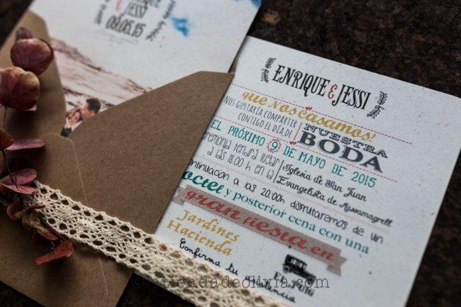 Invitaciones de boda en Sevilla