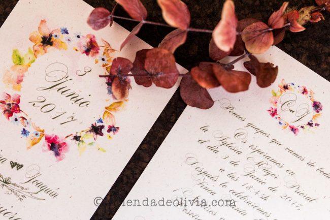 Invitaciones de boda en Teruel