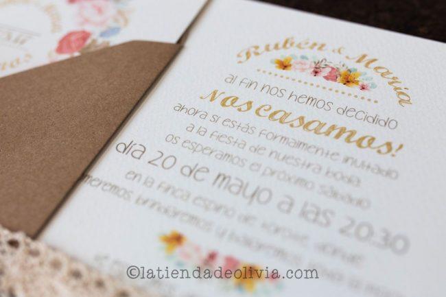 Invitaciones de boda en Toledo