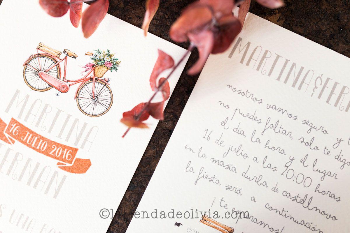 Invitaciones de boda en Valencia La Tienda de Olivia