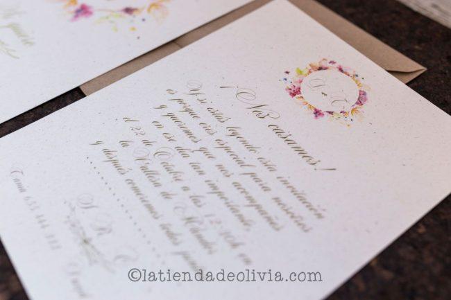 Invitaciones de boda en Zamora