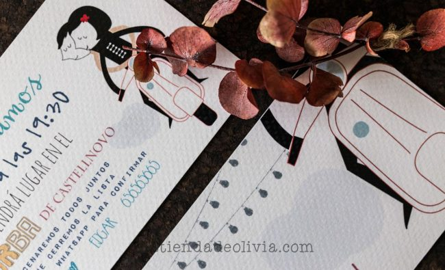 Invitaciones de boda en Zaragoza