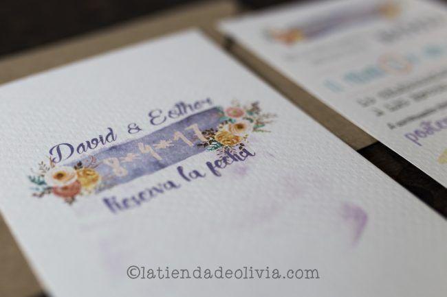 Invitaciones para bodas en A Coruña