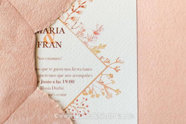 Tarjetas para bodas Madrid