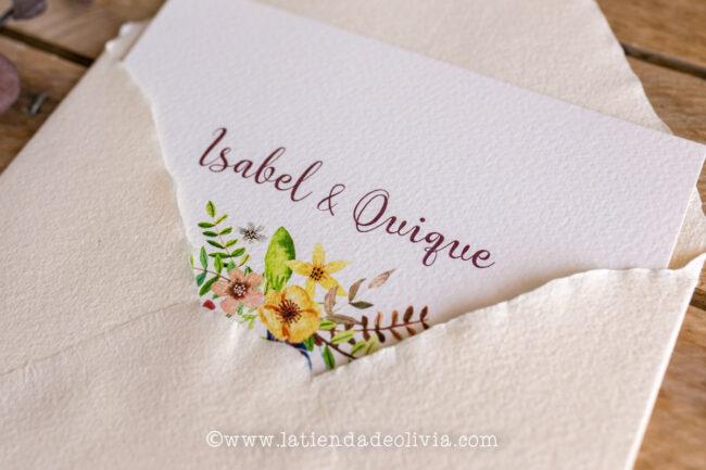 Invitaciones de boda Vitoria-Gasteiz