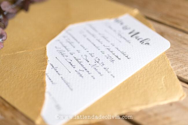 Invitaciones de boda Santiago de Compostela