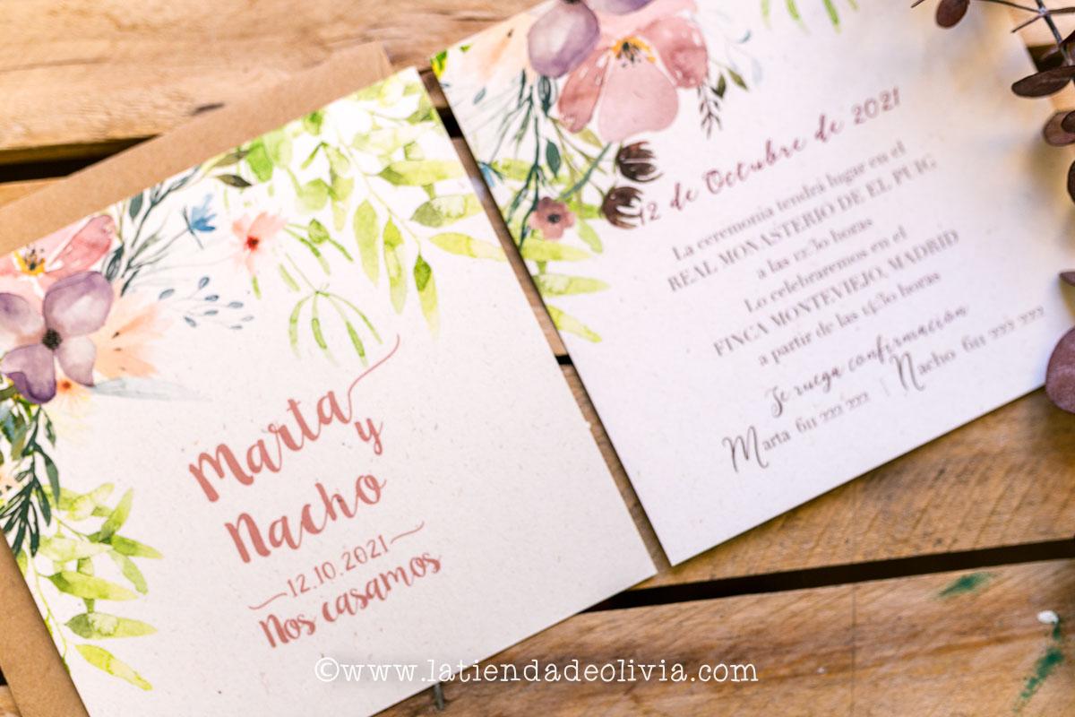 Invitaciones para bodas en Valencia