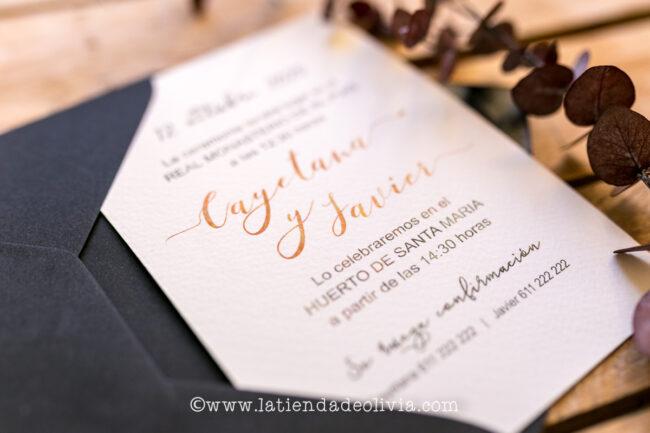 Invitaciones de boda Vigo