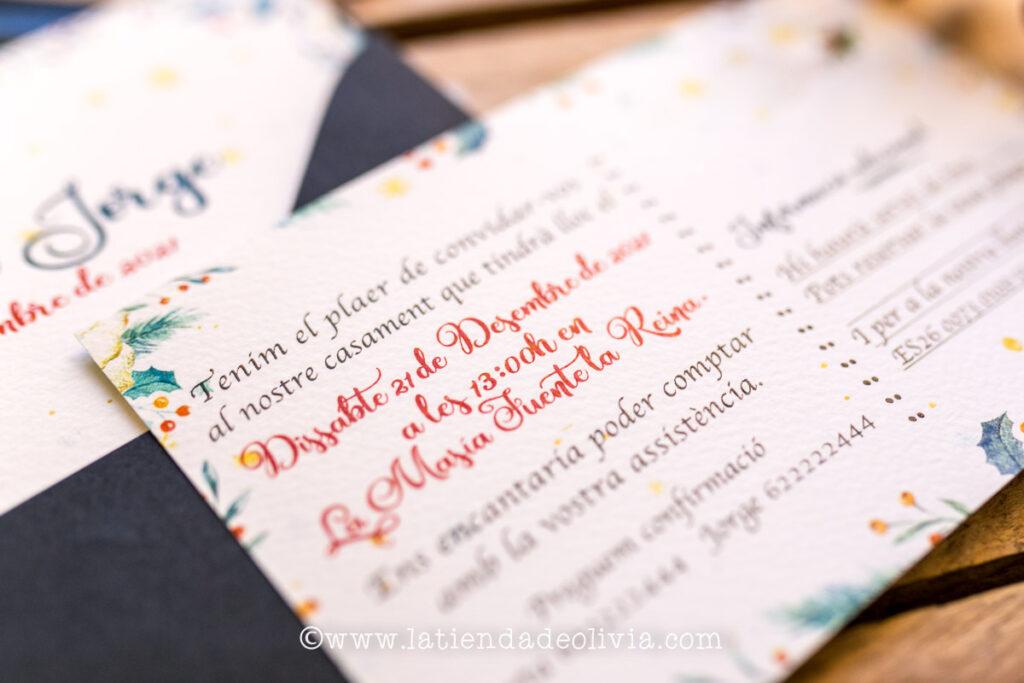 Tarjetas para bodas Vitoria-Gasteiz