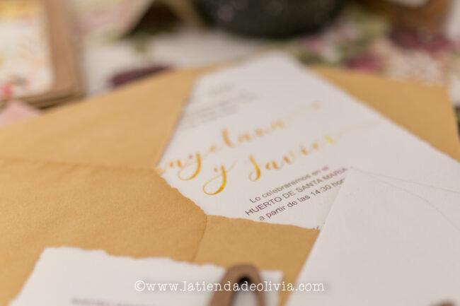 Invitaciones para bodas en Palencia