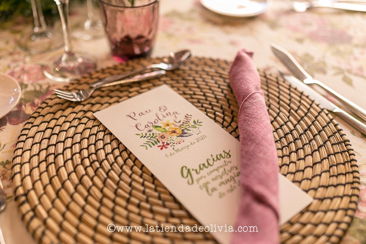 Invitaciones y papelería de boda en Santander