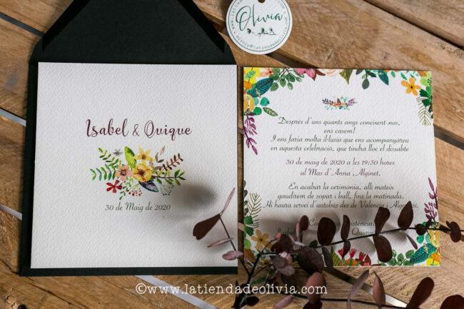Invitaciones de boda originales, Terrassa