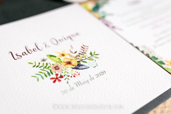 Invitaciones de boda Valladolid