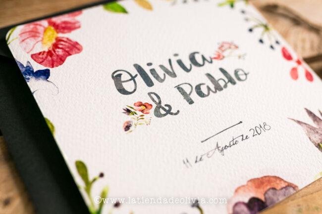 Tarjetas para bodas Tenerife