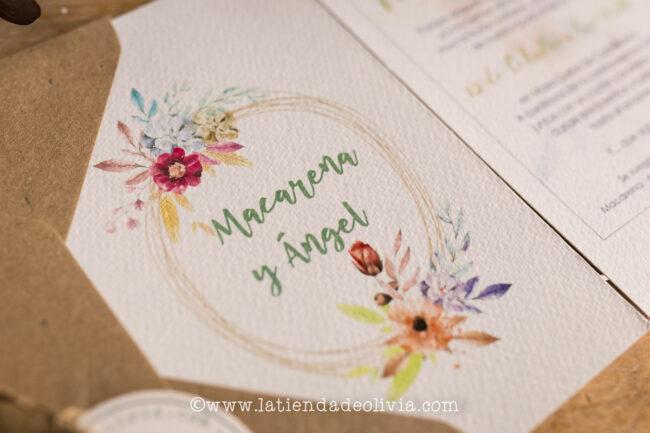 Invitaciones de boda elegantes, Ávila