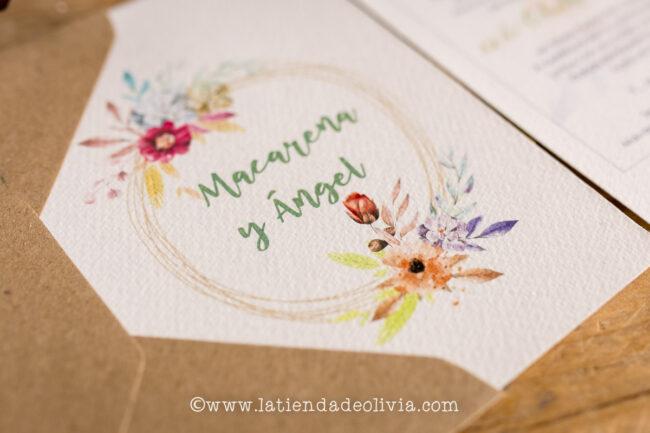 Invitaciones de boda elegantes, Ciudad Real