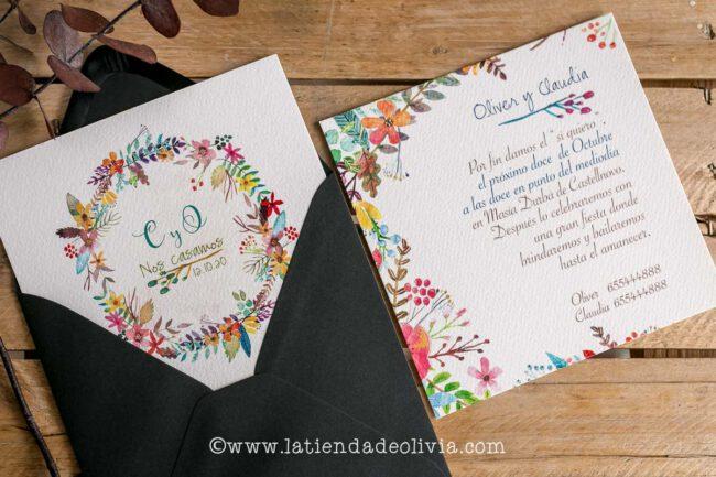 Invitaciones de boda originales, Valencia
