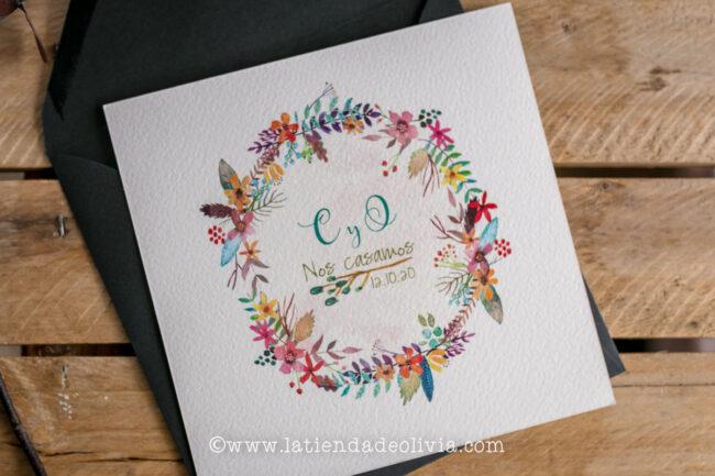 Tarjetas para bodas Almeria