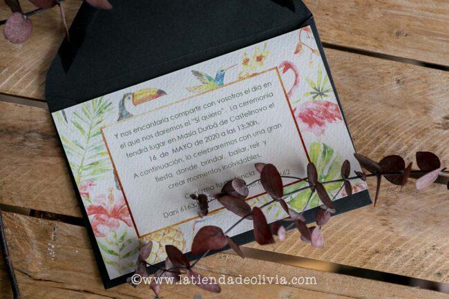 Invitaciones, papelería de boda en Arava-Álava