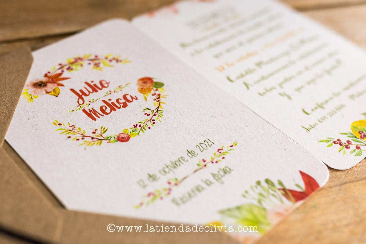 Invitaciones de boda originales, Toledo