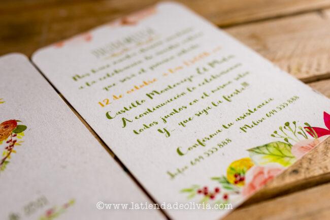 Invitaciones de boda originales, Ciudad Real