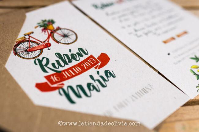 nvitaciones, tarjetas boda, Ávila