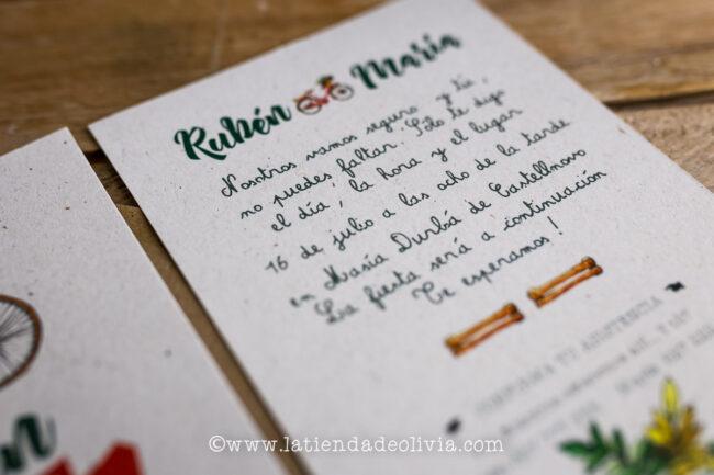 Invitaciones de boda Getafe