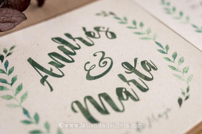 Tarjetas para bodas Terrassa