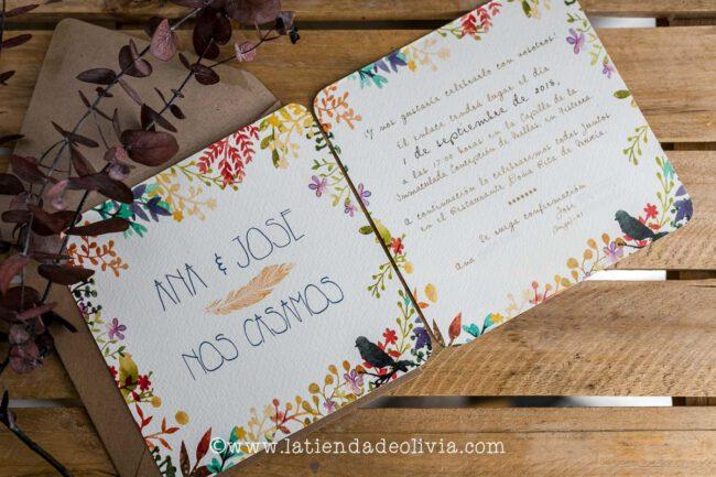 Invitaciones para bodas en Badajoz