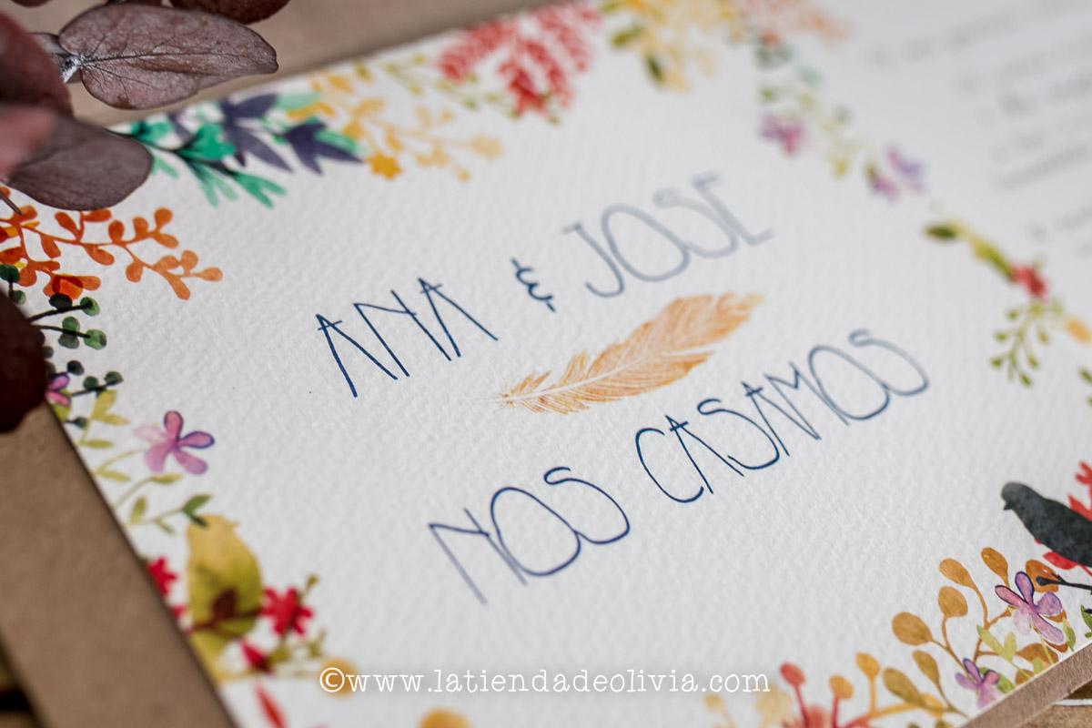 Invitaciones de boda originales, Alava